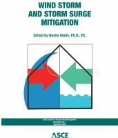 Cover image for Wind storm and storm surge mitigation
