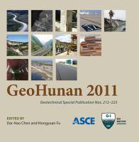 Cover image for GeoHunan 2011 proceedings of GeoHunan 2011