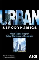 Cover image for Urban aerodynamics : wind engineering for urban planners and designers