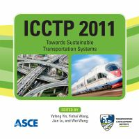 Cover image for ICCTP 2011 towards sustainable transportation systems