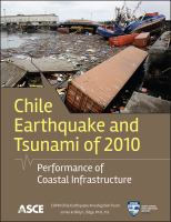 Cover image for Chile earthquake and tsunami of 2010 :    performance of coastal infrastructure