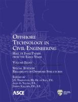 Cover image for Offshore technology in civil engineering : Hall of Fame papers from the early years
