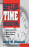 Cover image for Set-up time reduction