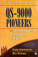 Cover image for QS-9000 pioneers : registered companies share their strategies for success