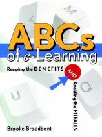 Cover image for ABCs of e-learning :  reaping the benefits and avoiding the pitfalls