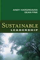 Cover image for Sustainable leadership