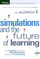 Cover image for Simulations and the future of learning : an innovative (and perhaps revolutionary) approach to e-learning