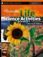 Cover image for Hands-on life science activities for grades K-6