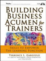 Cover image for Building business acumen for trainers skills to empower the learning function