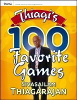 Cover image for Thiagis 100 favorite games