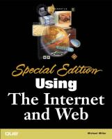Cover image for Special edition using the internet web