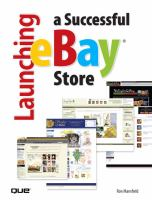 Cover image for Launching a successful eBay store