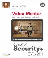 Cover image for CompTIA security+ SY0-201 video mentor