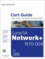 Cover image for CompTIA Network+ (N10-004) cert guide