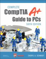 Cover image for Complete CompTIA A+ guide to PCs