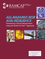 Cover image for All-hazards risk and resilience : prioritizing critical infrastructure using the RAMCAP Plus approach