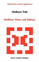 Cover image for Nonlinear waves and solitons