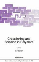 Cover image for Crosslinking and scission in polymers