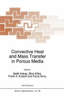 Cover image for Convective heat and mass transfer in porous media