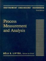 Cover image for Instrument engineers' handbook : process measurement and analysis