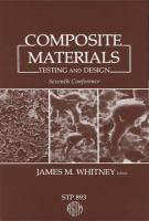 Cover image for Composite materials : testing and design
