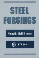 Cover image for Steel forgings