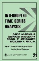 Cover image for Interrupted time series analysis