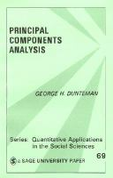 Cover image for Principal components analysis
