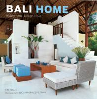 Cover image for Bali home : inspirational design ideas