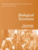 Cover image for Biological terrorism