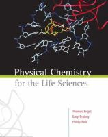 Cover image for Physical chemistry for the life sciences