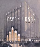 Cover image for Joseph Urban
