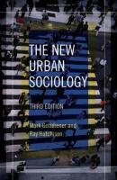 Cover image for The new urban sociology