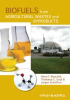 Cover image for Biofuels from agricultural wastes and byproducts