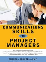 Cover image for Communications skills for project managers