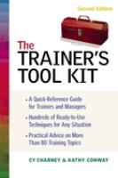Cover image for The trainer's tool kit