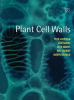 Cover image for Plant cell walls : from chemistry to biology