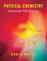 Cover image for Physical chemistry : quantum physics