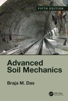 Cover image for Advanced Soil Mechanics