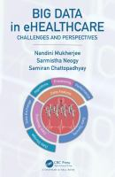 Cover image for Big Data in eHealthcare : Challenges and Perspectives