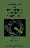 Cover image for Handbook of industrial membrane technology