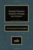 Cover image for Municipal wastewater treatment technology : recent developments