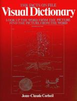 Cover image for The facts on file visual dictionary