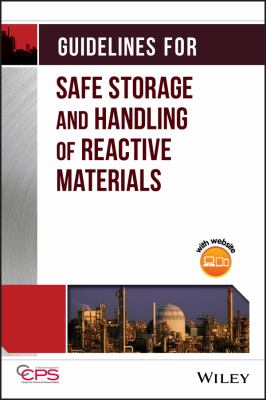 Cover image for Guidelines for safe storage and handling of reactive materials