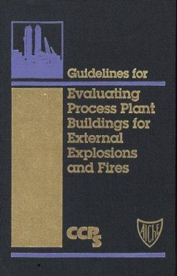 Cover image for Guidelines for evaluating process plant buildings for external explosions and fires.