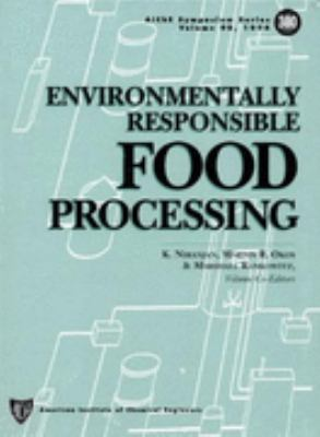 Cover image for Environmentally responsible food processing