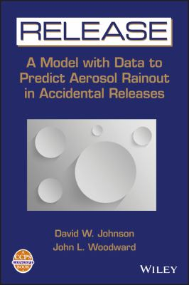 Cover image for Release a model with data to predict aerosol rainout in accidental releases