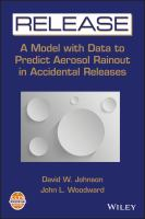 Cover image for Release : a model with data to predict aerosol rainout in accidental releases