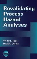 Cover image for Revalidating process hazard analyses