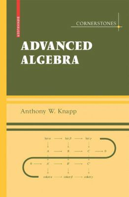 Cover image for Advanced algebra